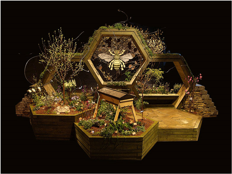 bee-exhibit-2011-portland-flower-show-landmarcs
